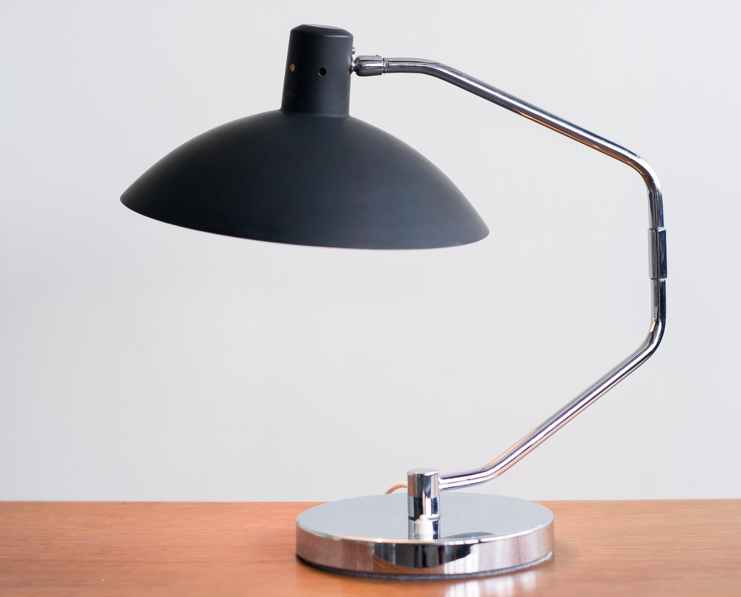 vintage desk lamp by clay michie for knoll international 1960s for. Black Bedroom Furniture Sets. Home Design Ideas