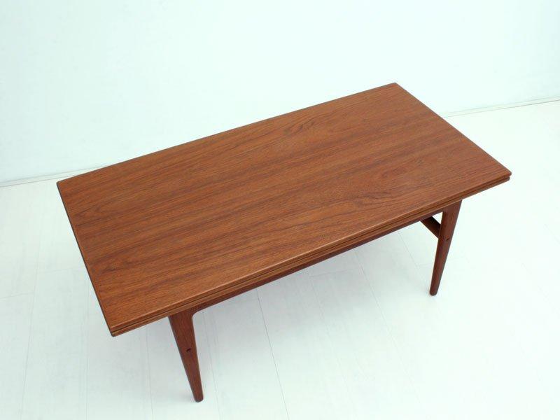 Table De Salle Manger Table Basse Mid Century Metamorphique Par Kai Kristiansen Pour