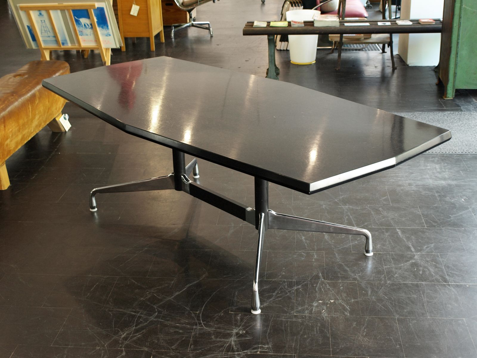 Mid Century Coffee Table By Charles Ray Eames For Vitra For Sale At Pamono