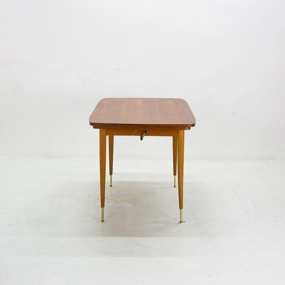 Extendable teak coffee or dining table 1950s for sale at pamono Coffee table dining