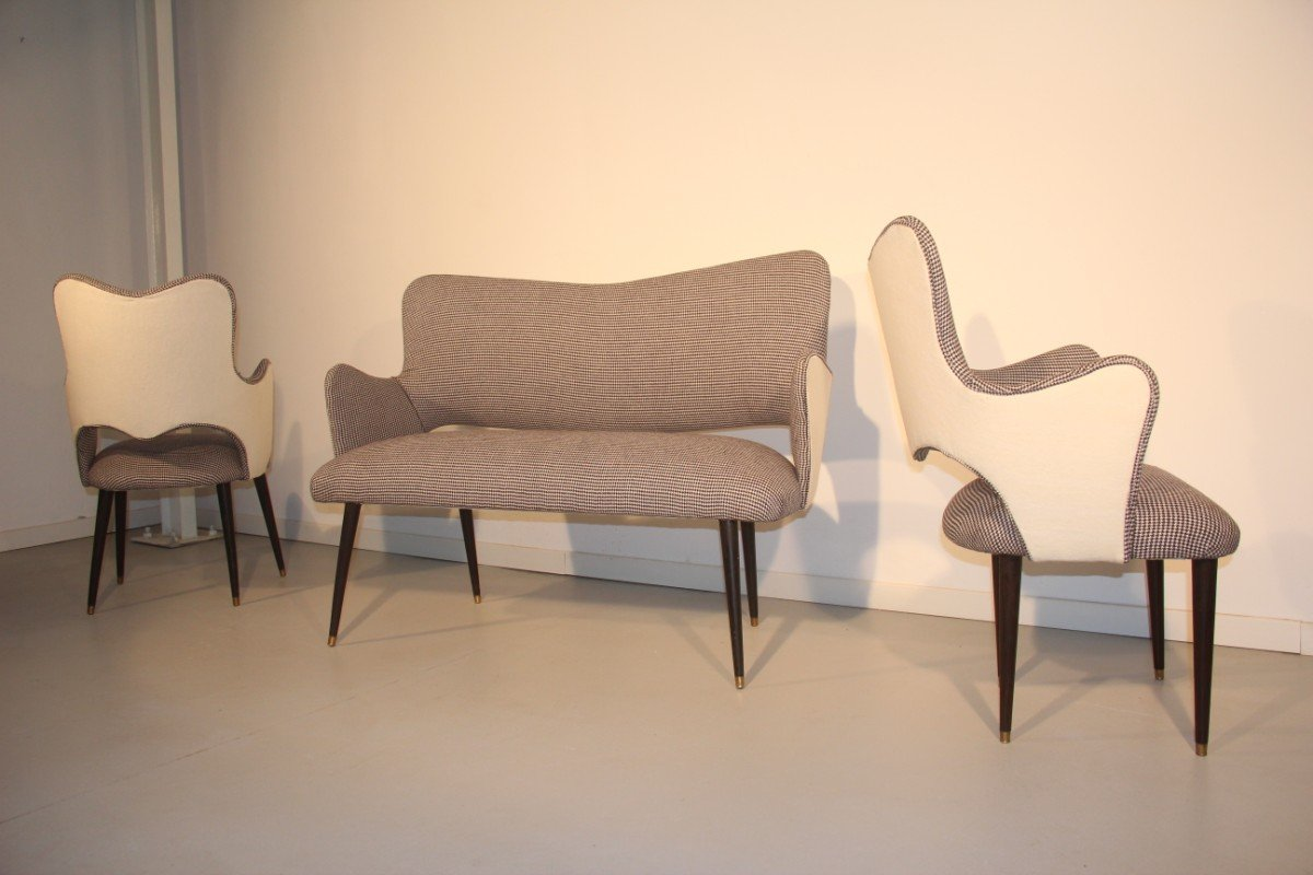 Italian grey white living room set 1950s for sale at pamono for White living room set