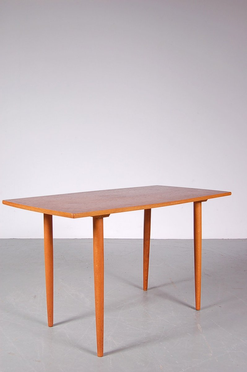 Birch Coffee Table Swedish Teak And Birch Coffee Table From Tingstrms 1950s For