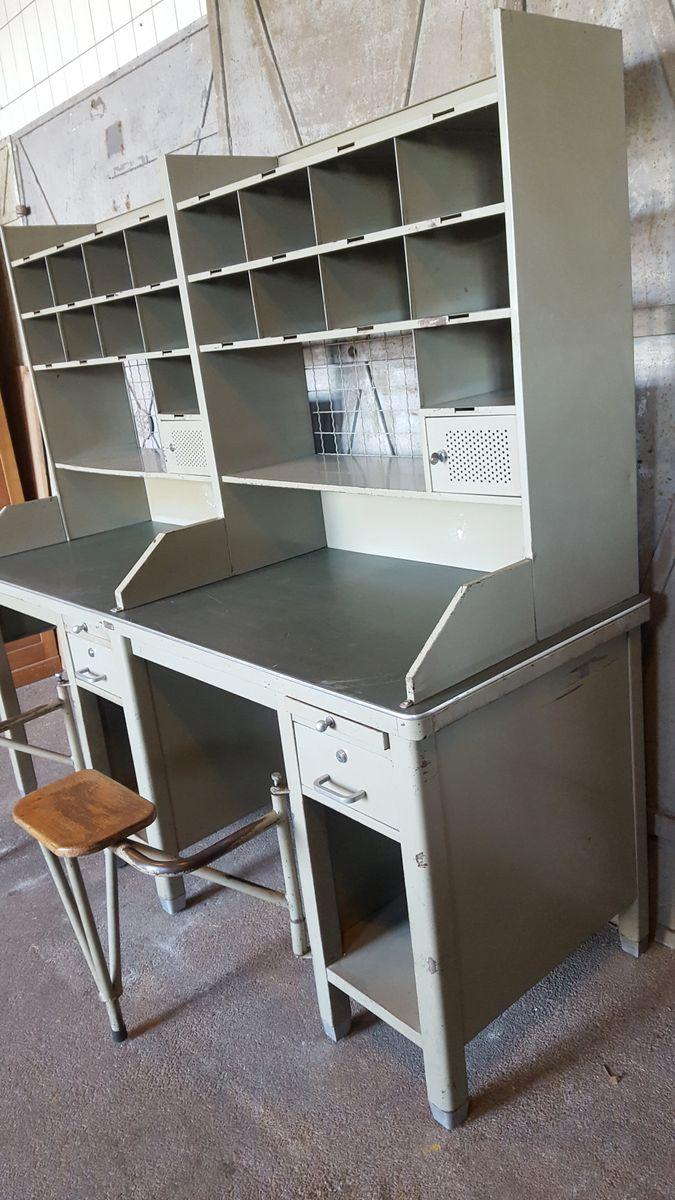 double post office bureau 1960s for sale at pamono. Black Bedroom Furniture Sets. Home Design Ideas