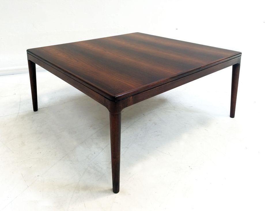 Danish Rosewood Coffee Table By Arne Hovmand Olsen For Mogens Kold 1950s