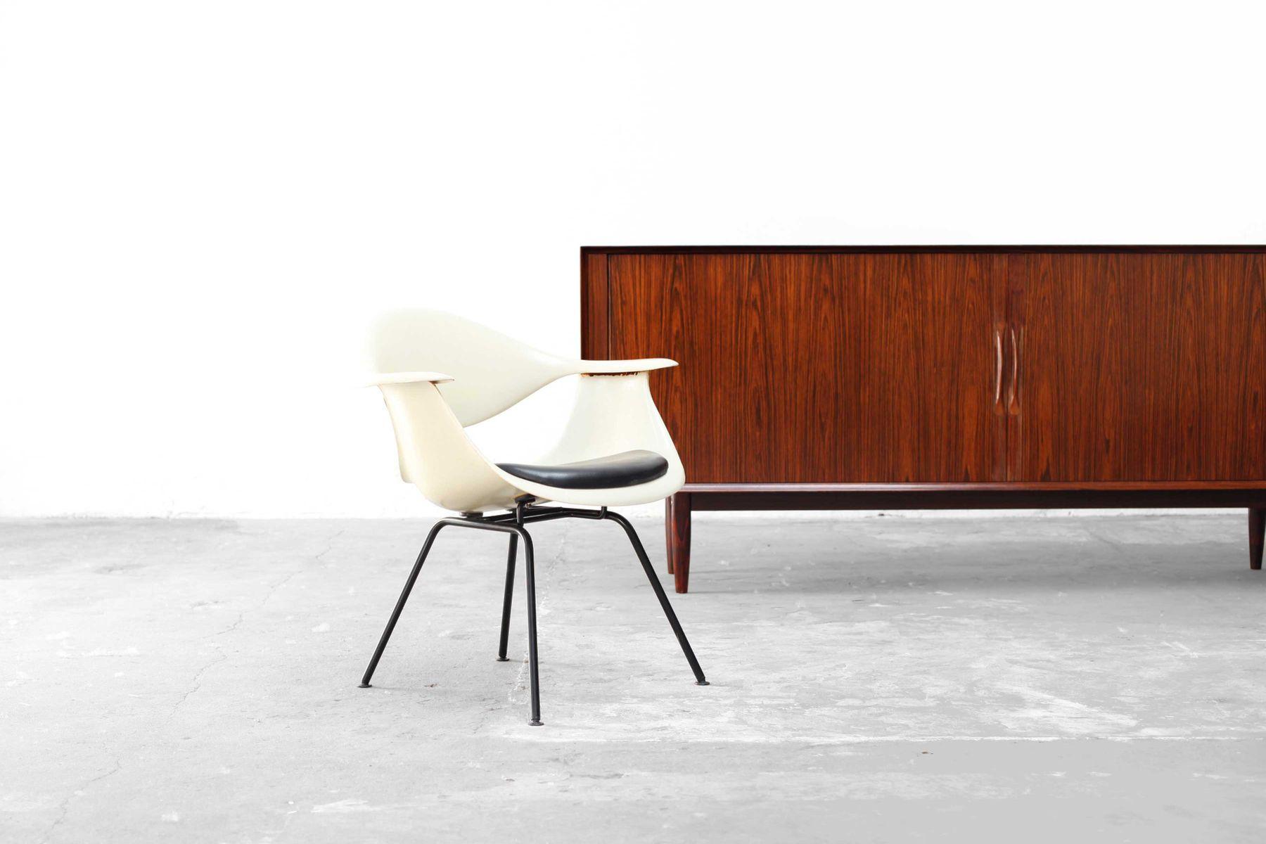niedriger deutscher daf h base stuhl von george nelson f r herman miller 1958 bei pamono kaufen. Black Bedroom Furniture Sets. Home Design Ideas