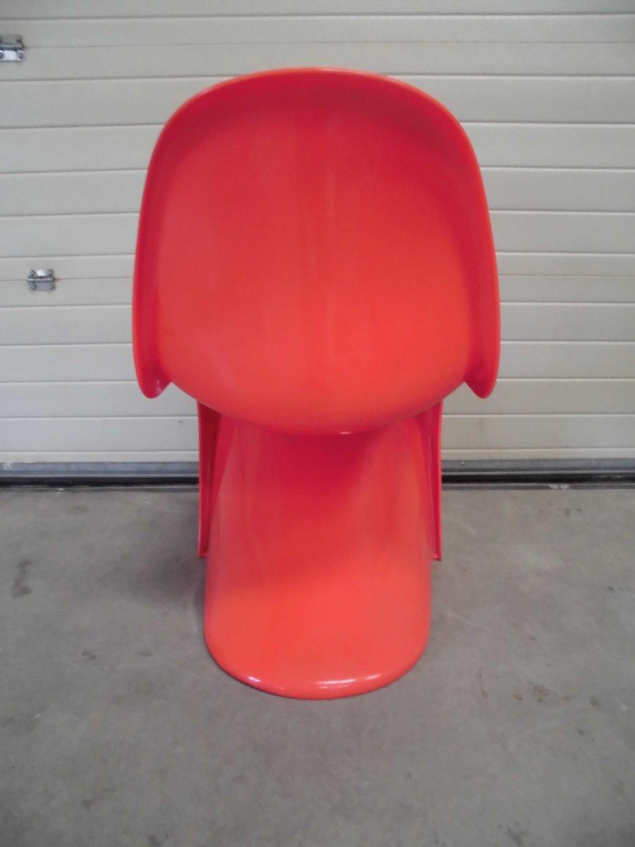 red panton chair by verner panton for herman miller - Panton Chair