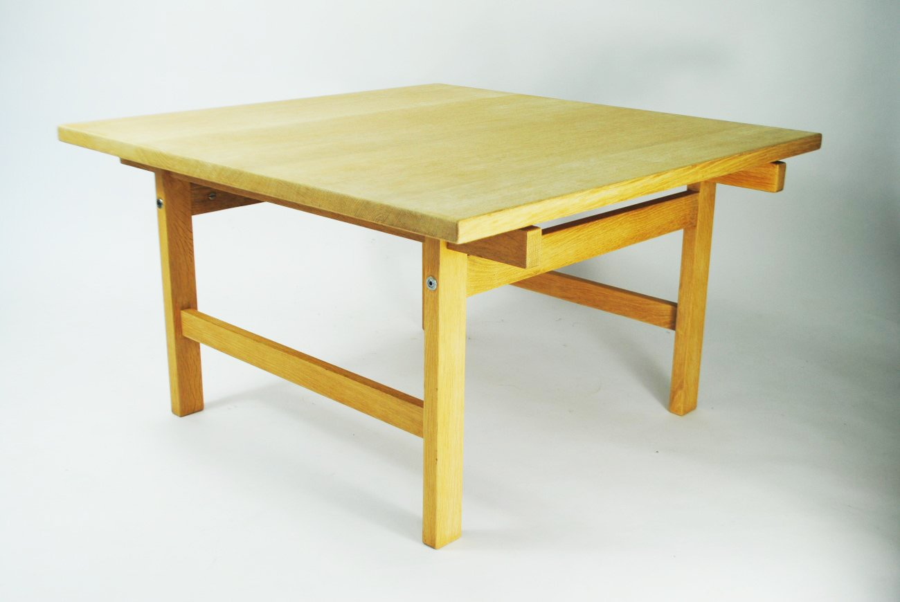 Danish oak coffee table by hans j wegner for pp mbler for sale danish oak coffee table by hans j wegner for pp mbler for sale at pamono geotapseo Image collections