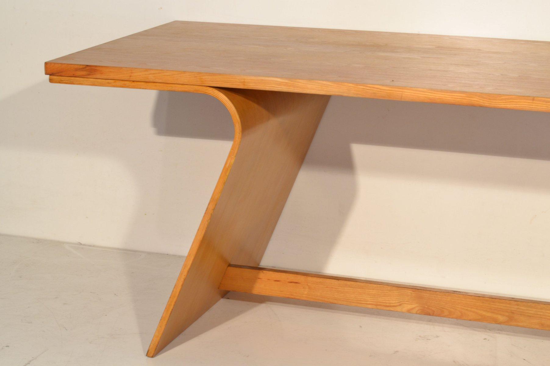Vintage esstisch aus schichtholz bei pamono kaufen - Esstisch verspiegelt ...