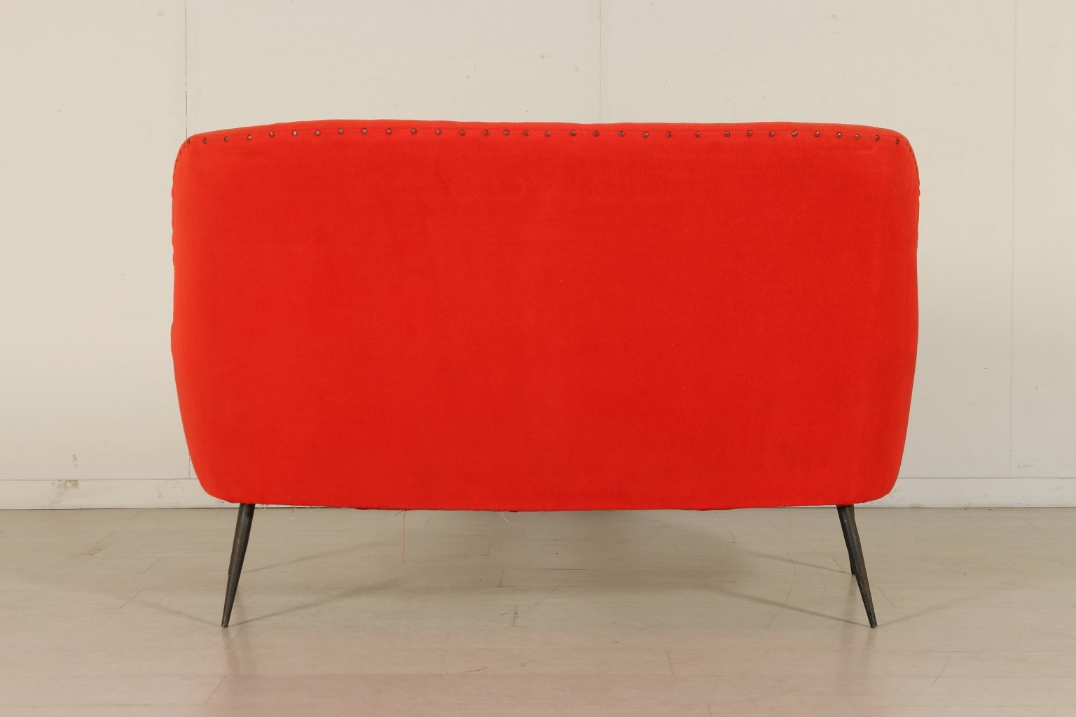 Italian Two Seater Orange Sofa 1950s For Sale At Pamono
