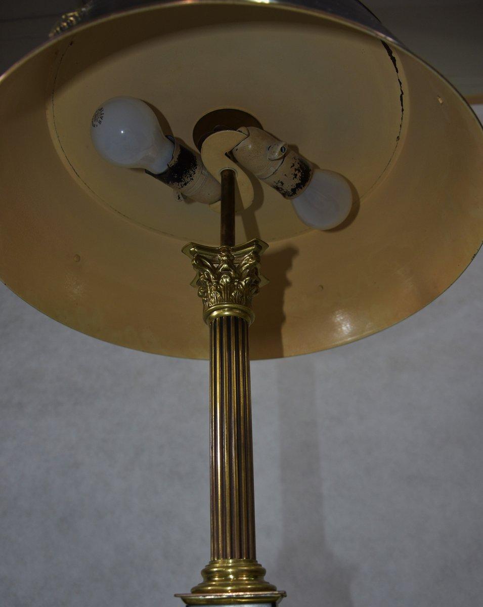 schwedische gustavianische messing tischlampe 1930er bei. Black Bedroom Furniture Sets. Home Design Ideas