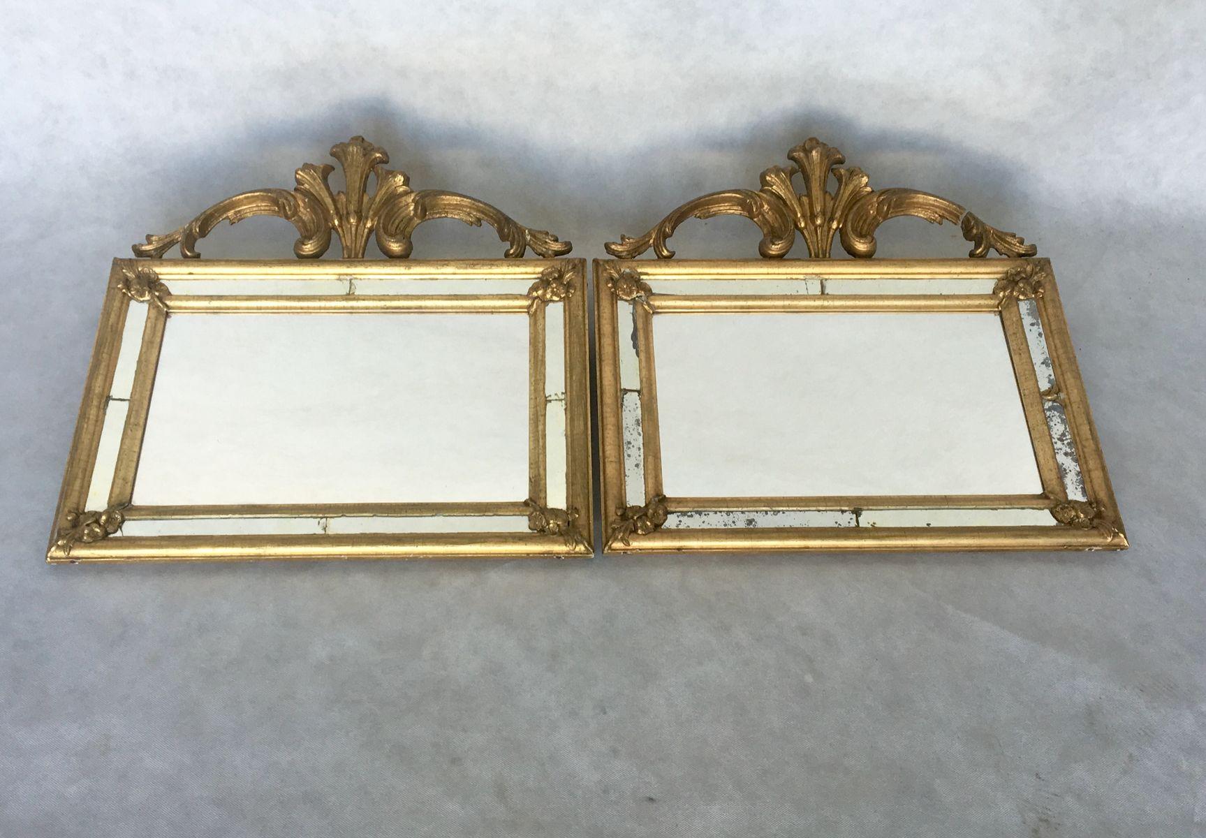 Specchi antichi, Svezia, set di 2 in vendita su Pamono
