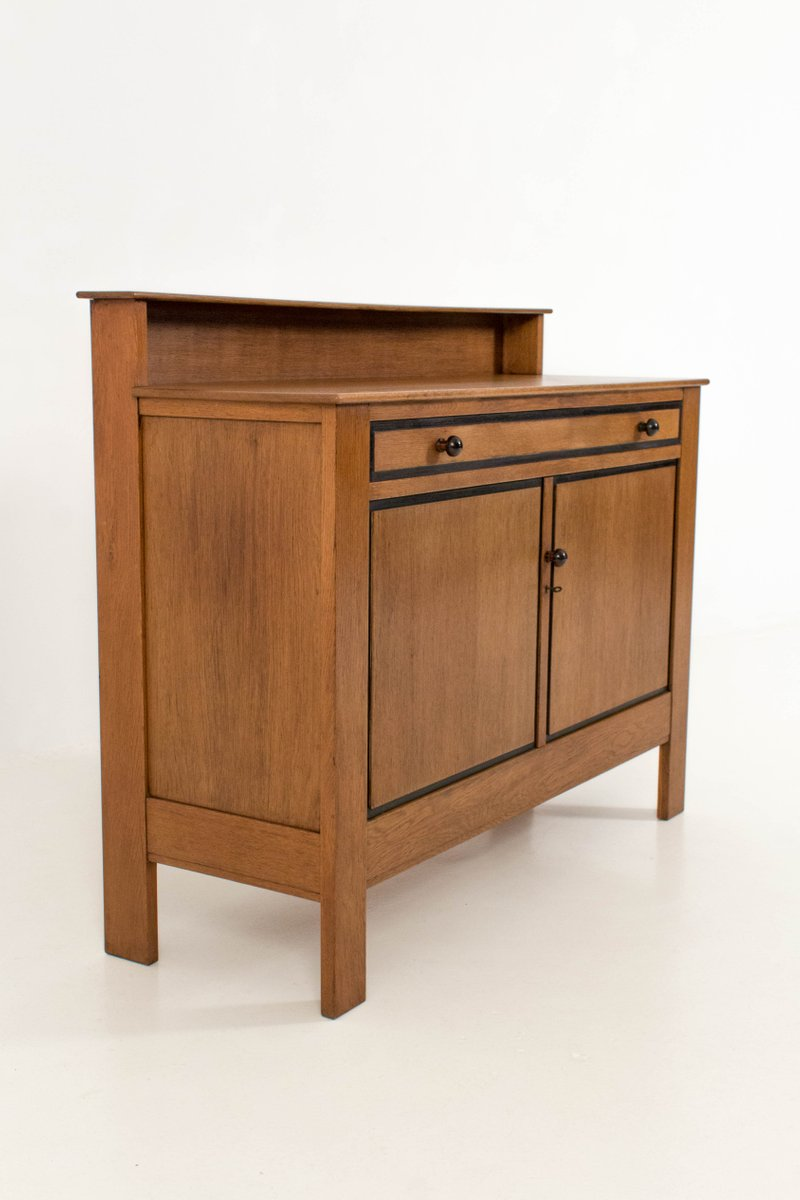art deco hague school buffet by j a muntendam for l o v 1924 for sale at pamono. Black Bedroom Furniture Sets. Home Design Ideas