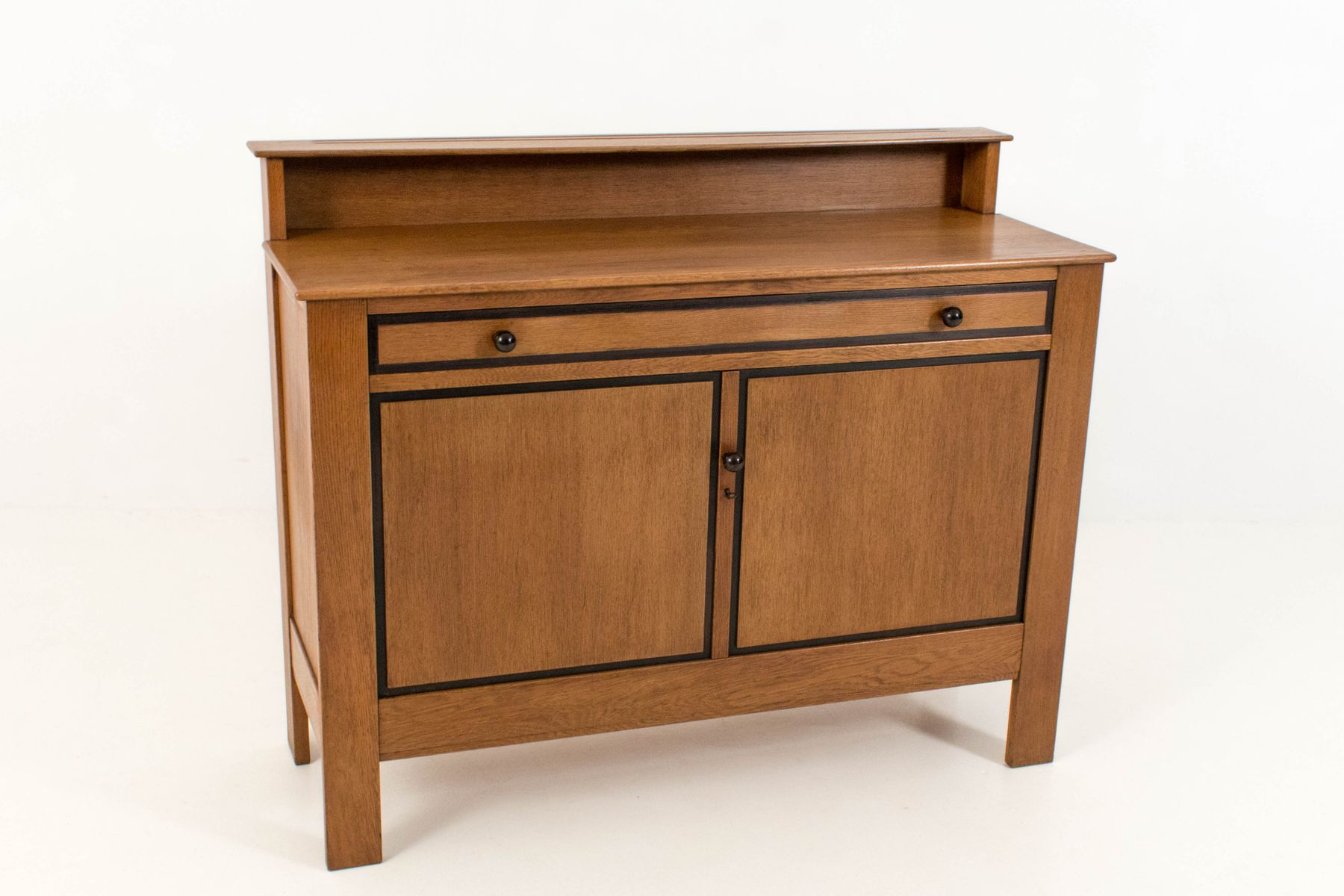 art deco hague school buffet by j a muntendam for l o v. Black Bedroom Furniture Sets. Home Design Ideas