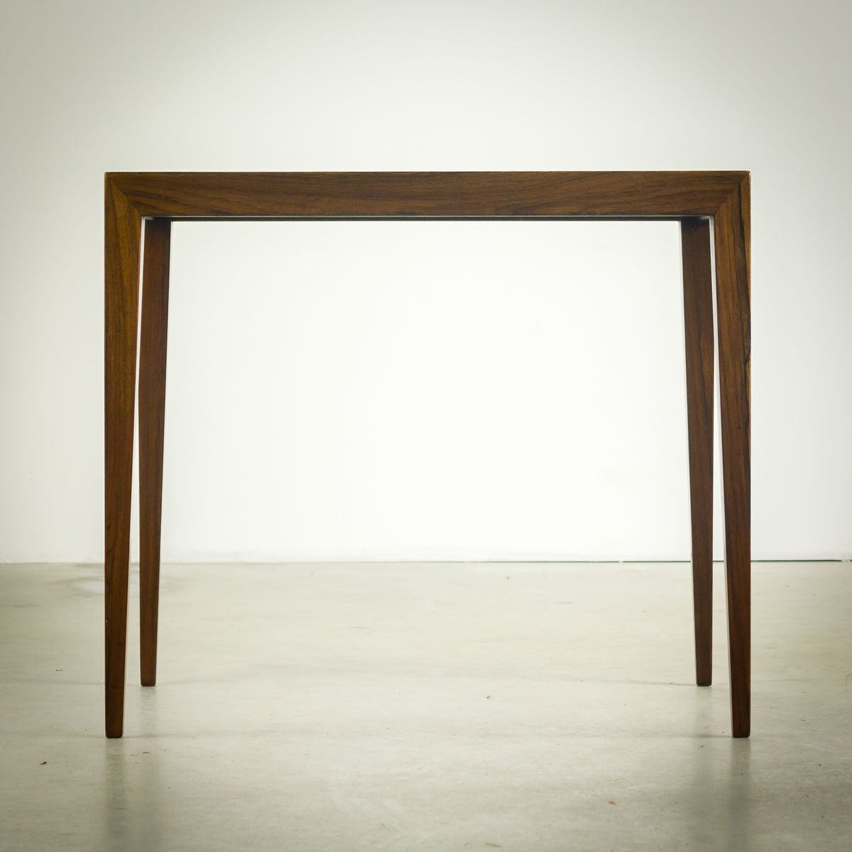 Rosewood Nesting Tables By Severin Hansen For Bovenkamp