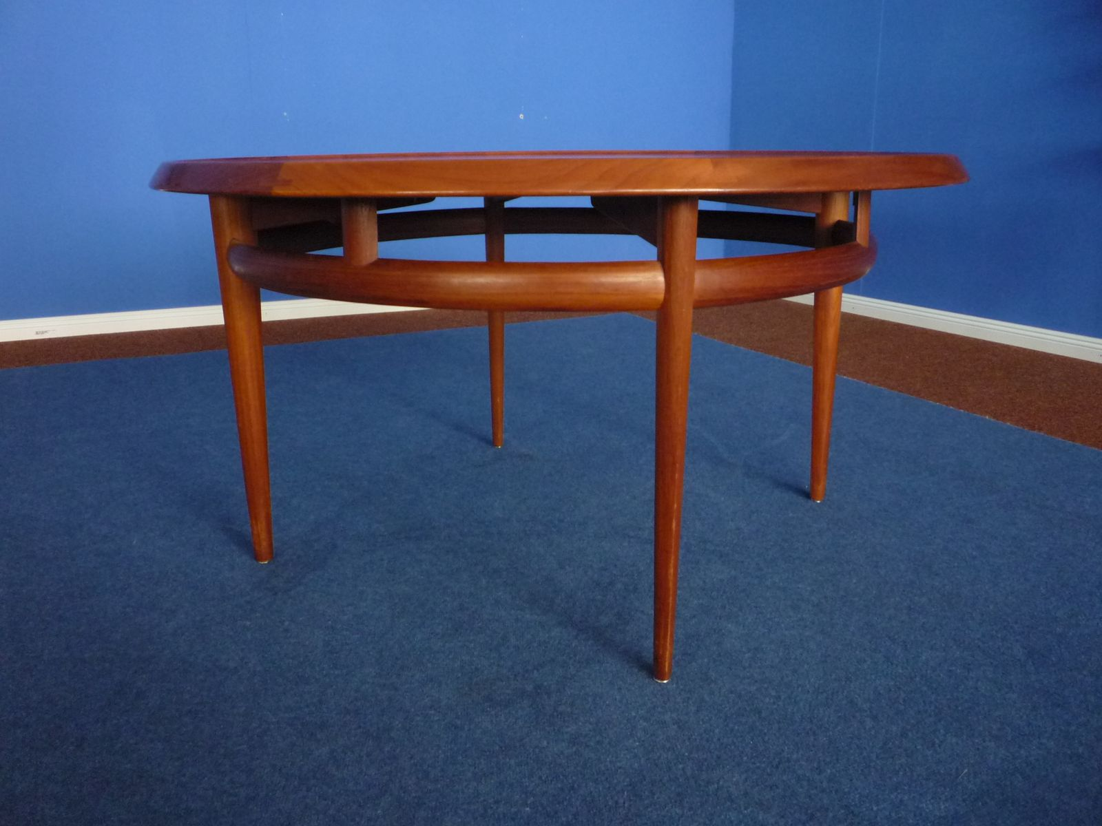 Norwegian Teak Coffee Table by Torbj¸rn Afdal for Bruksbo 1960s