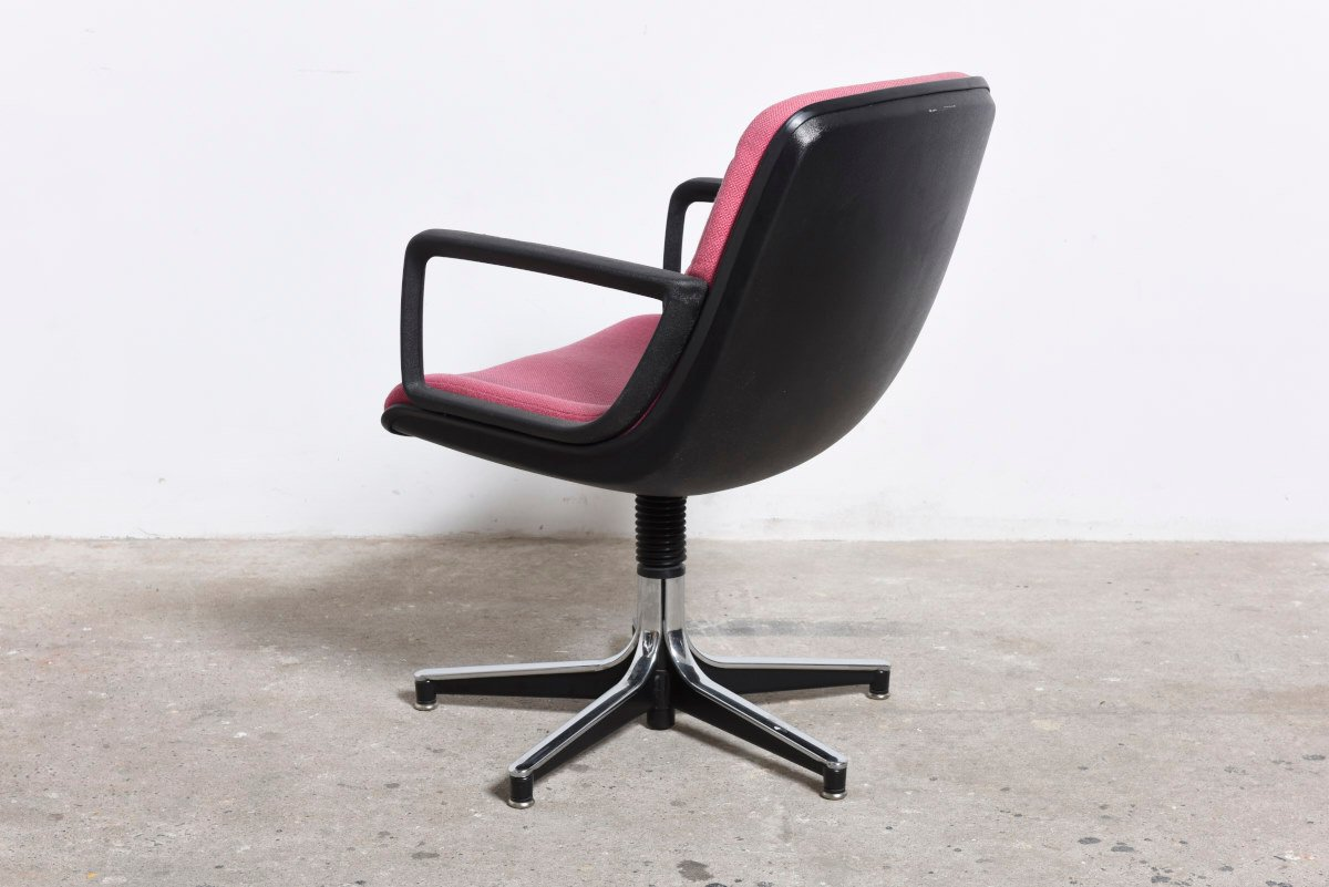 German executive office swivel desk chair 1980s for sale for 1980s chair