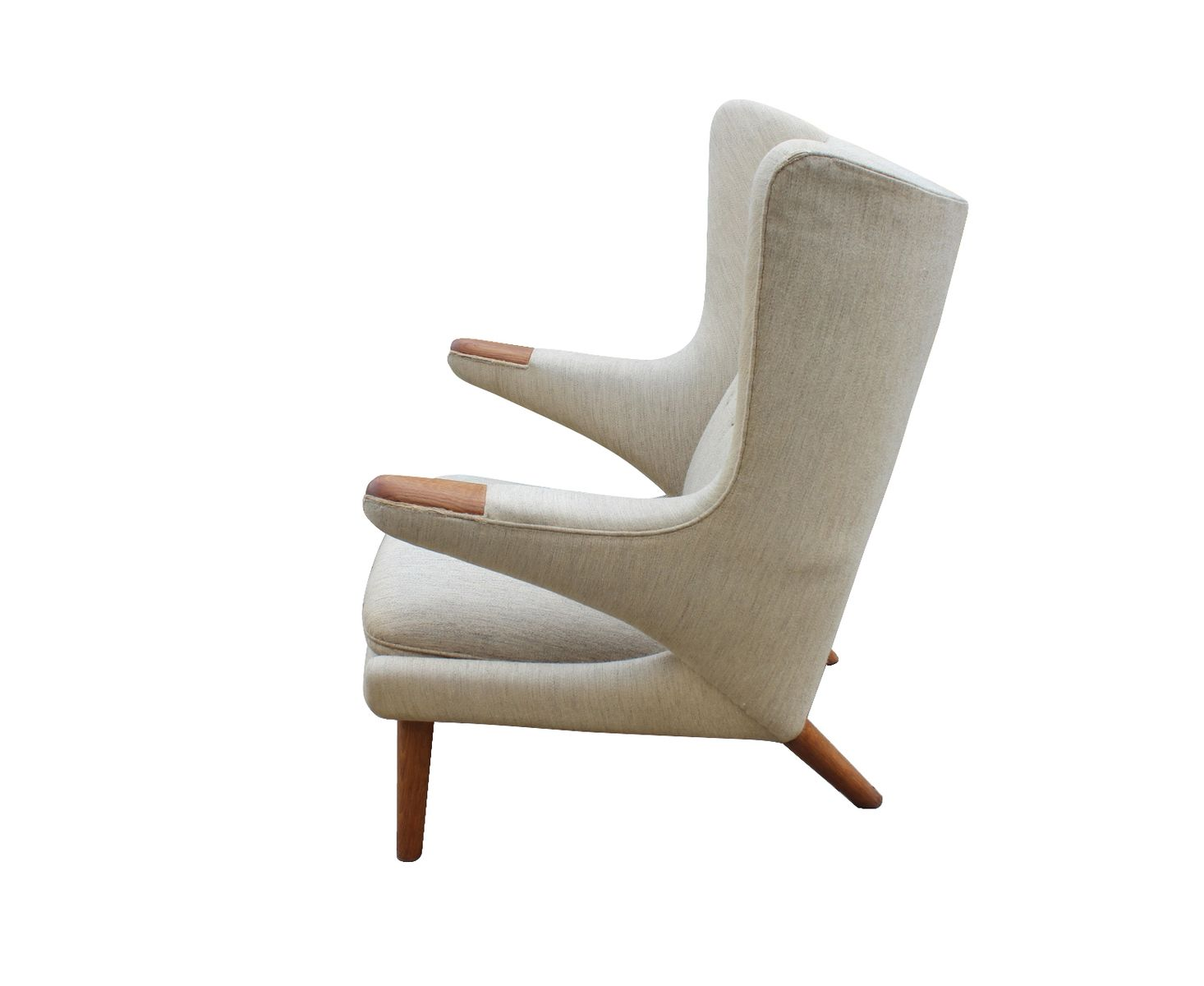 Model AP 19 Papa Bear Chair by Hans J Wegner for AP Furniture