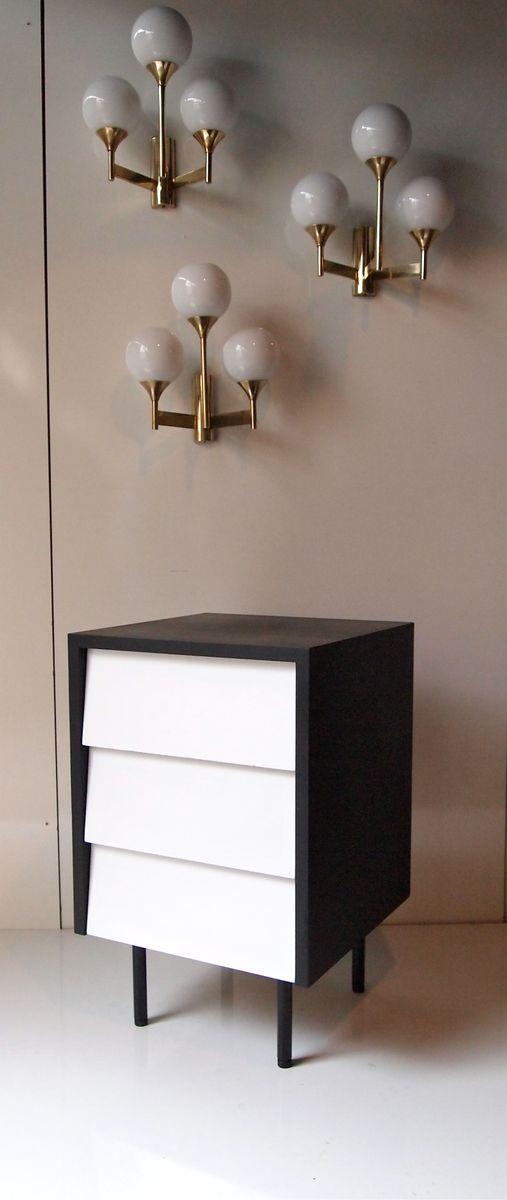 buffet von florence knoll bassett f r knoll 1950er bei. Black Bedroom Furniture Sets. Home Design Ideas