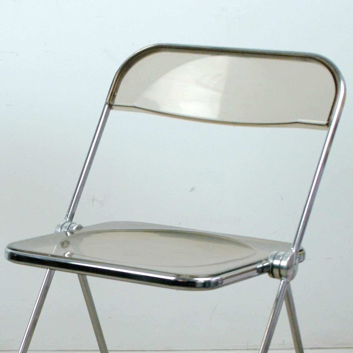 folding chairs plia folding chair by giancarlo piretti for castelli 1970s chairs