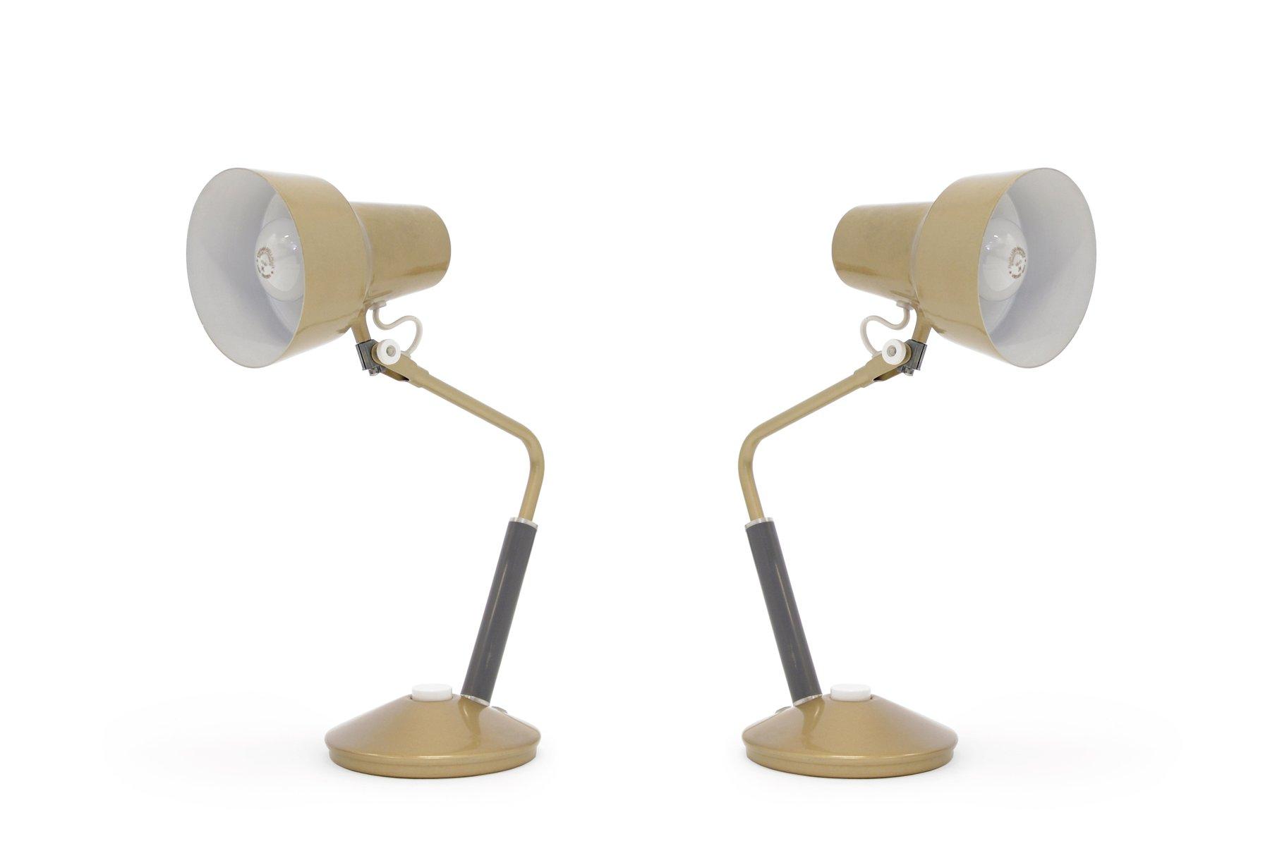 norwegian luxo l table lamps from jac jacobsen s set of   - norwegian luxo l table lamps from jac jacobsen s set of