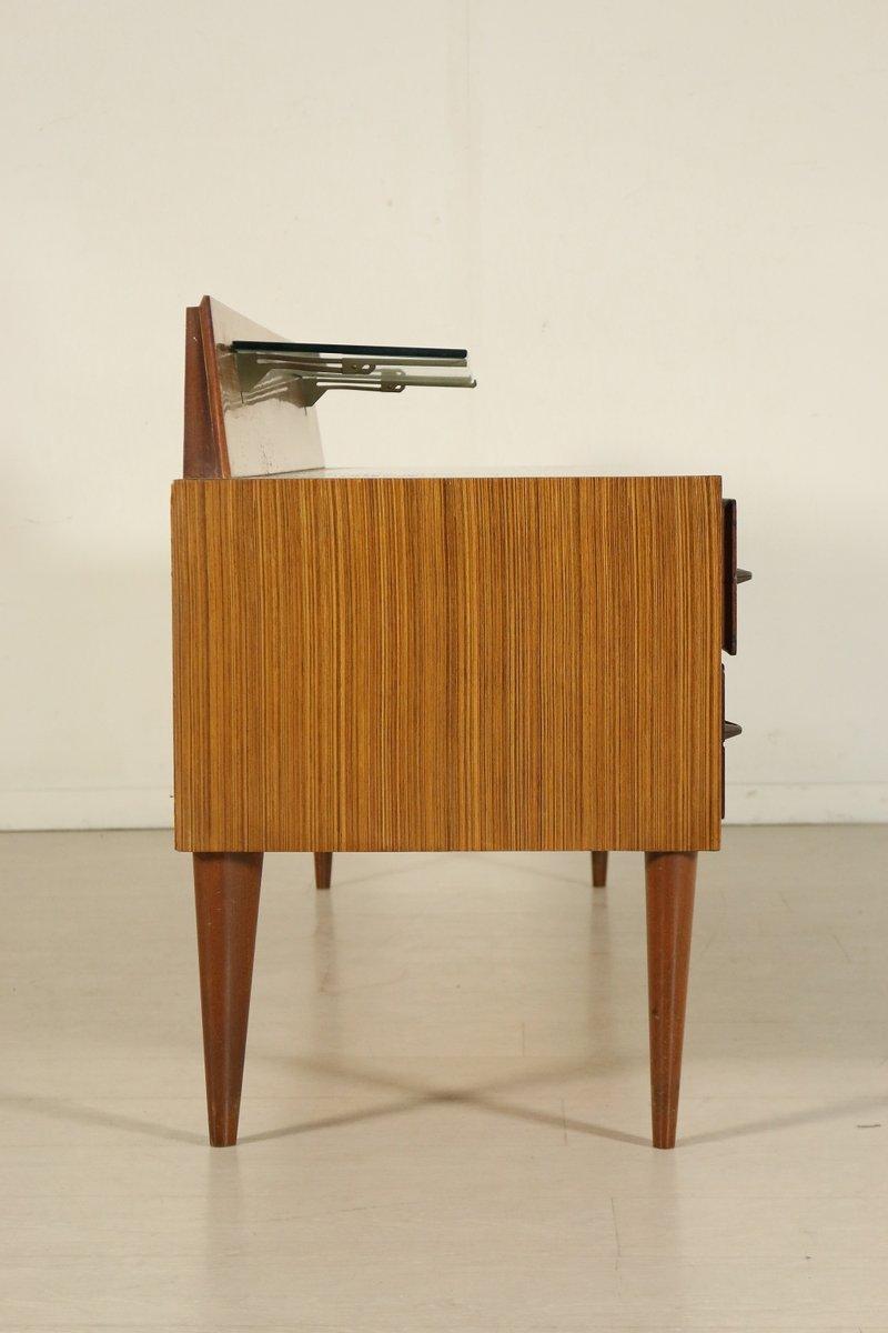 Italienische palisander kommode mit spiegel 1960er bei for Italienische stil kommode