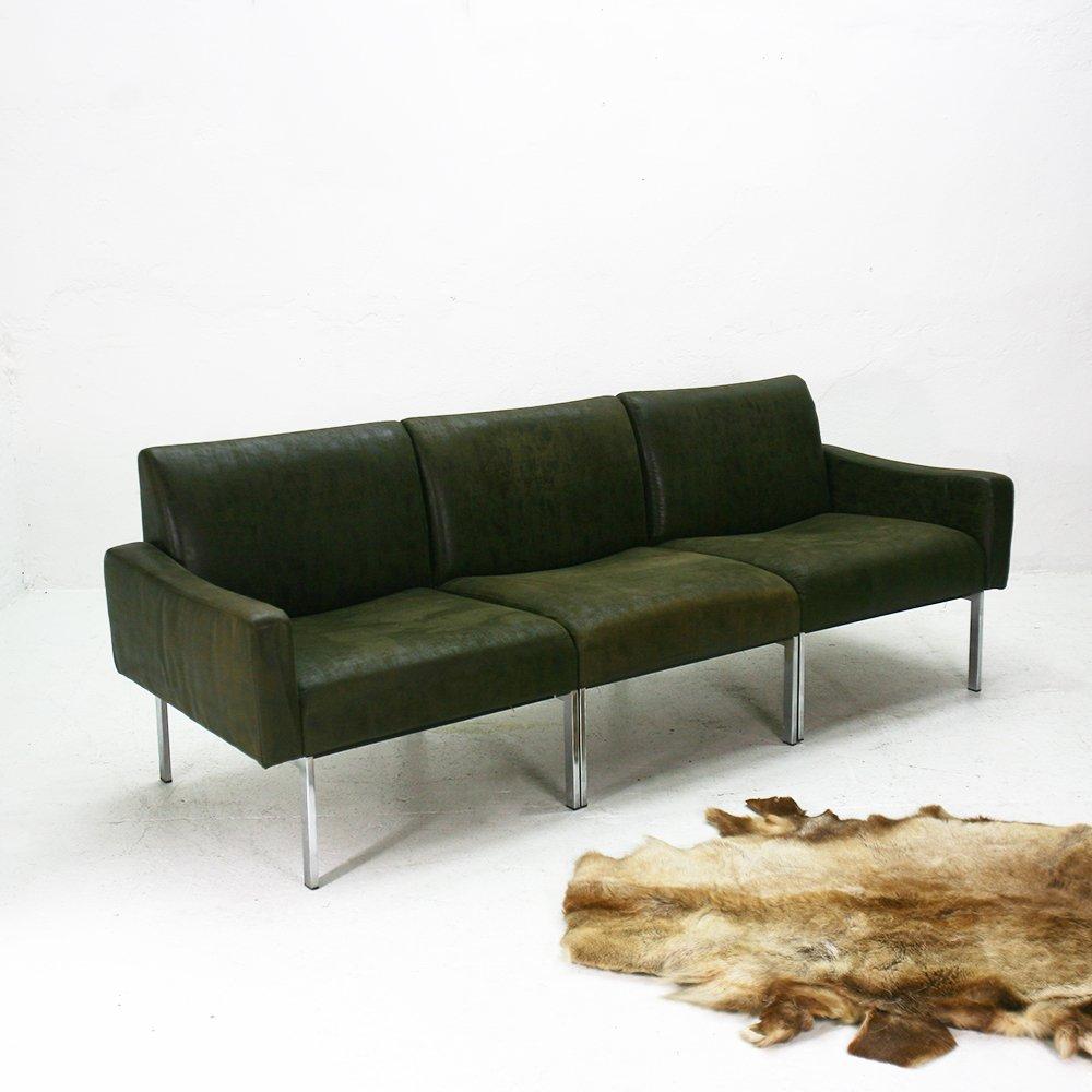 Modulares ministeriums drei sitzer sofa 1960er bei pamono for Sofa 5 sitzer