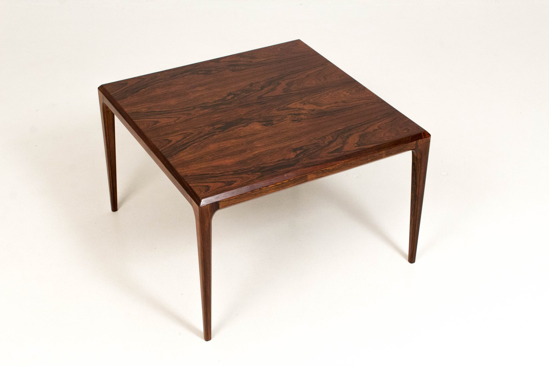 Danish Rosewood Coffee Table By Johannes Andersen For Silkeborg 1960s For Sale At Pamono