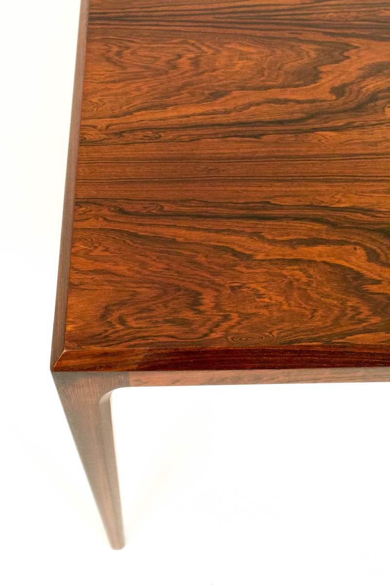 Danish Rosewood Coffee Table By Johannes Andersen For Silkeborg 1960s