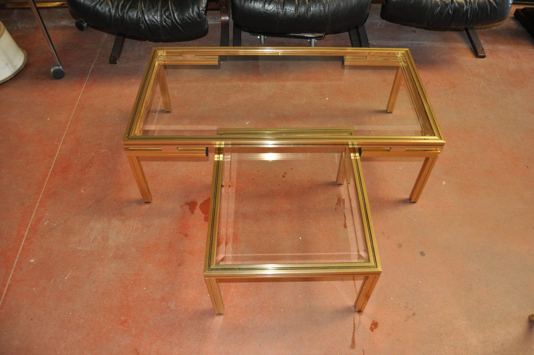 table basse vintage par pierre vandel france en vente sur pamono. Black Bedroom Furniture Sets. Home Design Ideas