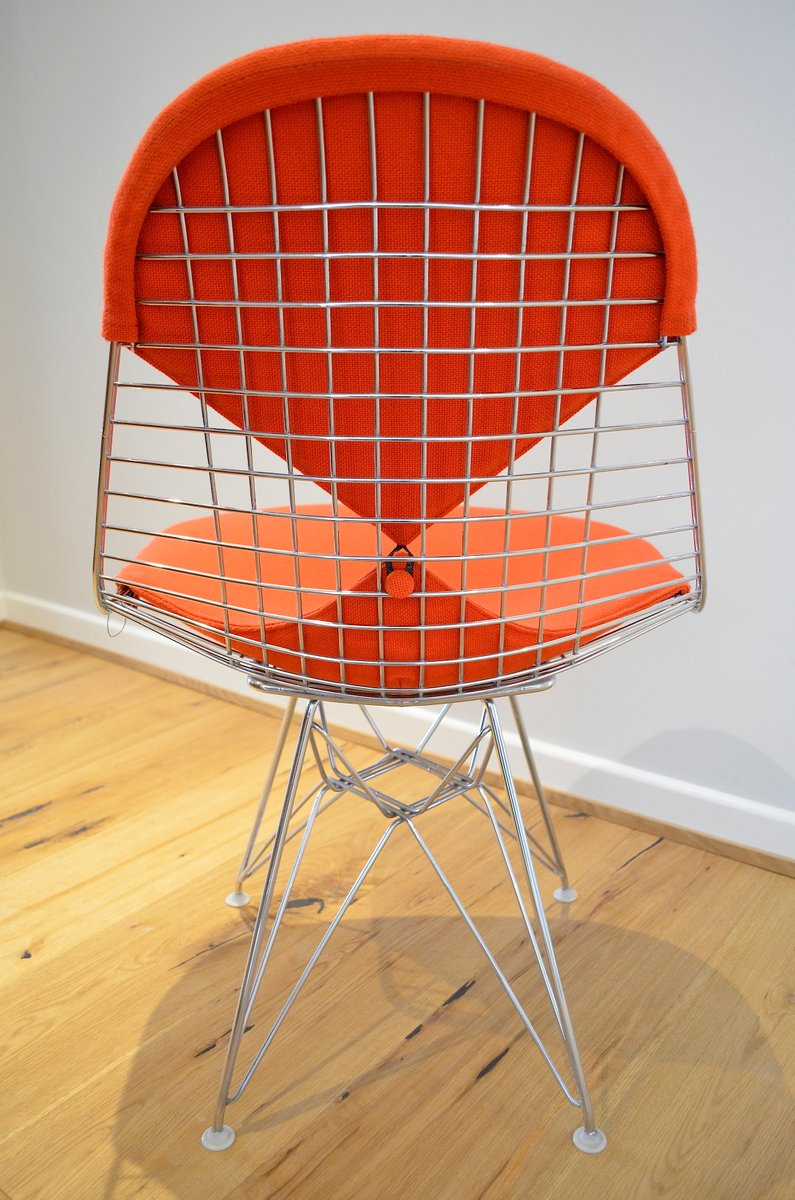 Mid century wire bikini chair by charles ray eames for for Eames chair deutschland