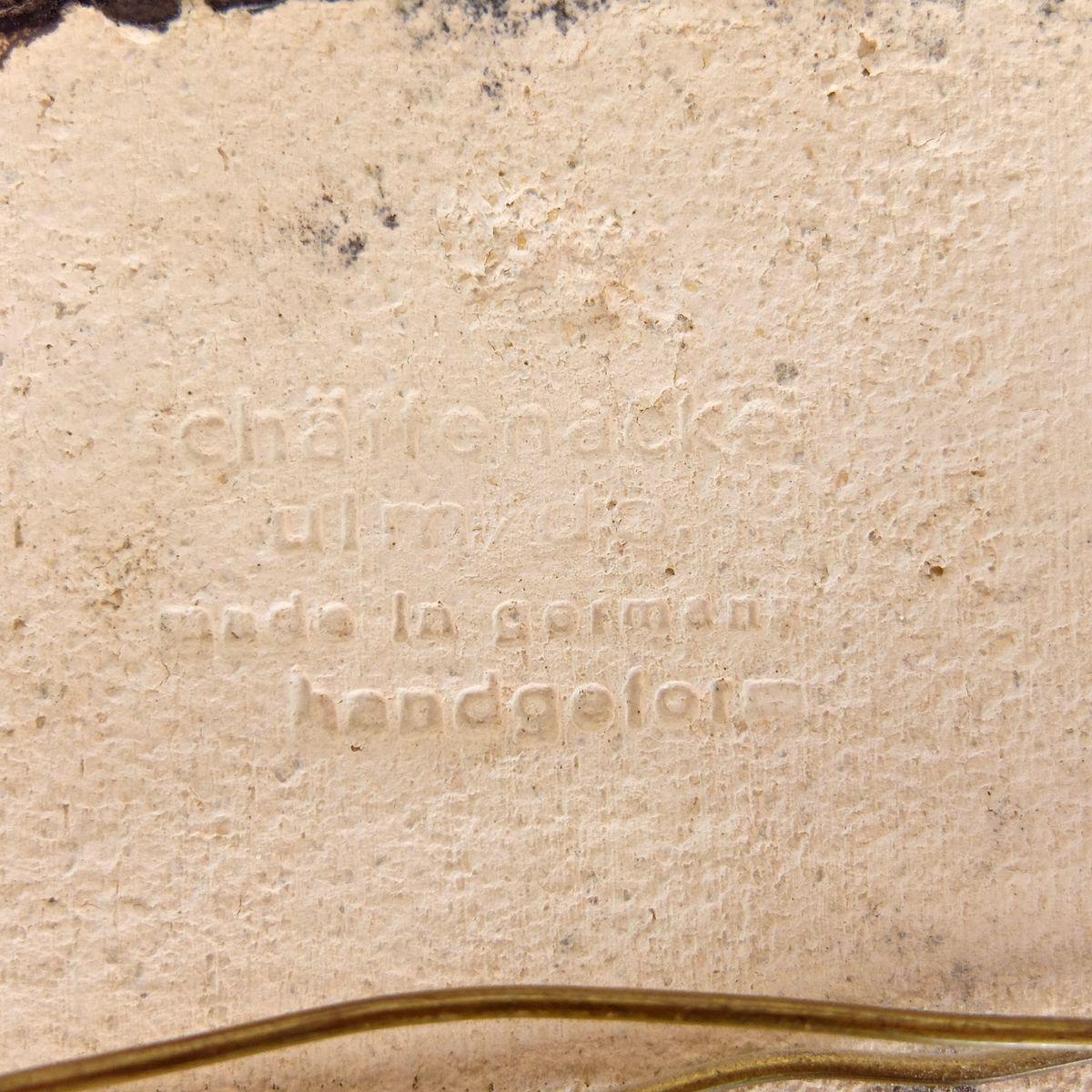 Carreaux muraux vintage en c ramique par h f for Carreaux muraux
