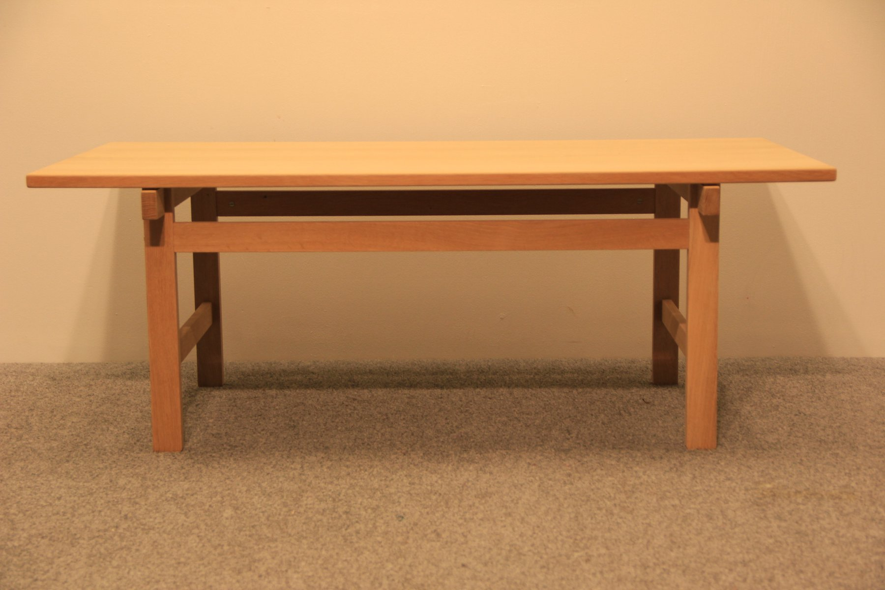 Oak Coffee Table by Hans J Wegner for Andreas Tuck for sale at Pamono