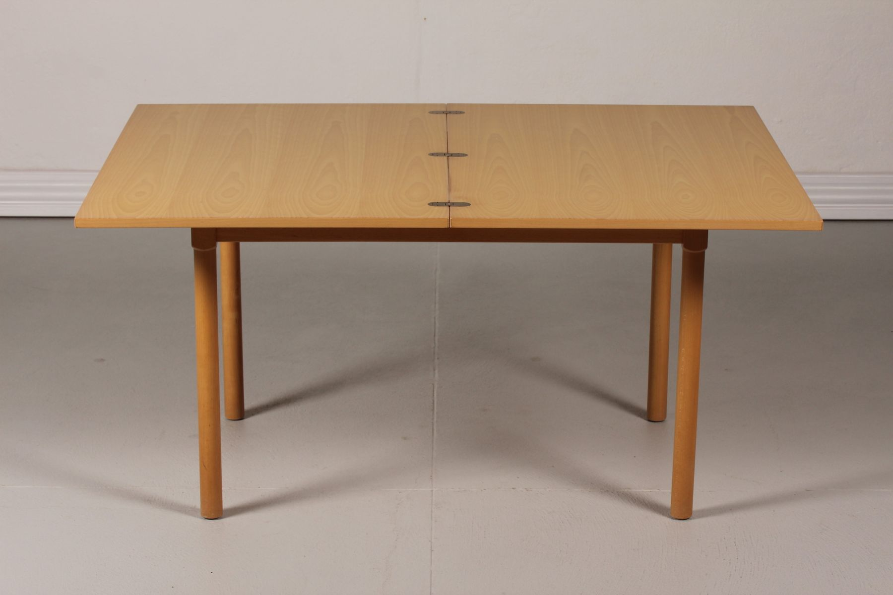 Danish fh 4500 beech coffee table by b rge mogensen for for Beech coffee table