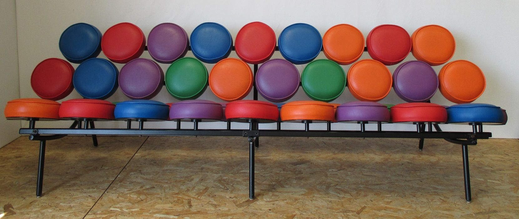 American Marshmallow Sofa By Georg Nelson For Herman Miller, 1990