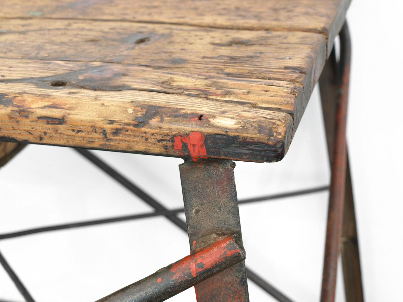 industrielle deutsche vintage werkbank aus holz metall bei pamono kaufen. Black Bedroom Furniture Sets. Home Design Ideas
