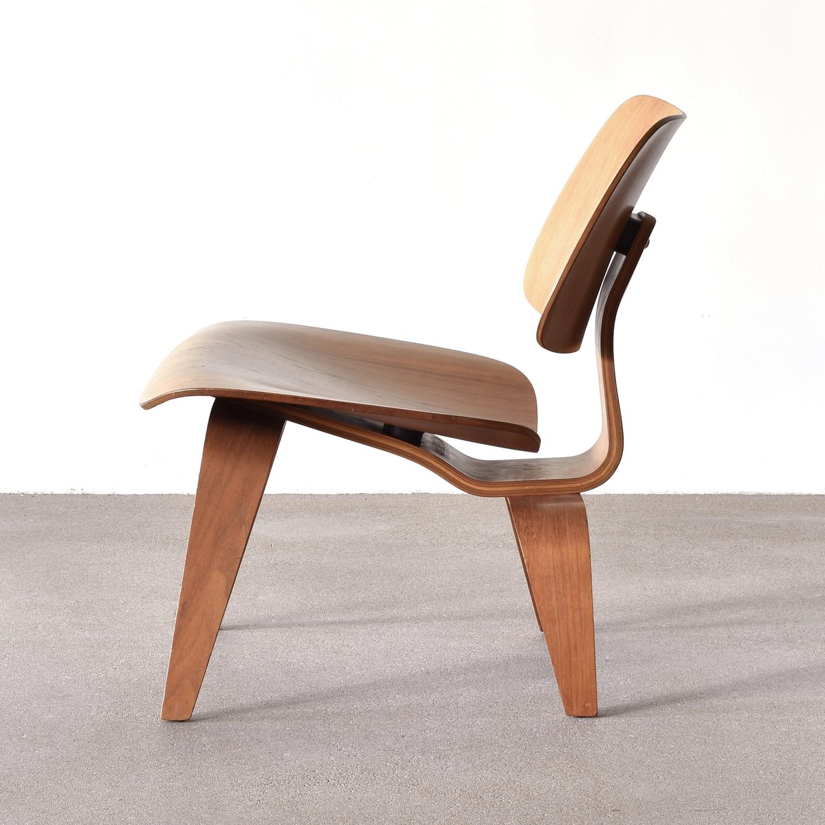 American Lcw Walnut Lounge Chair By Charles Amp Ray Eames