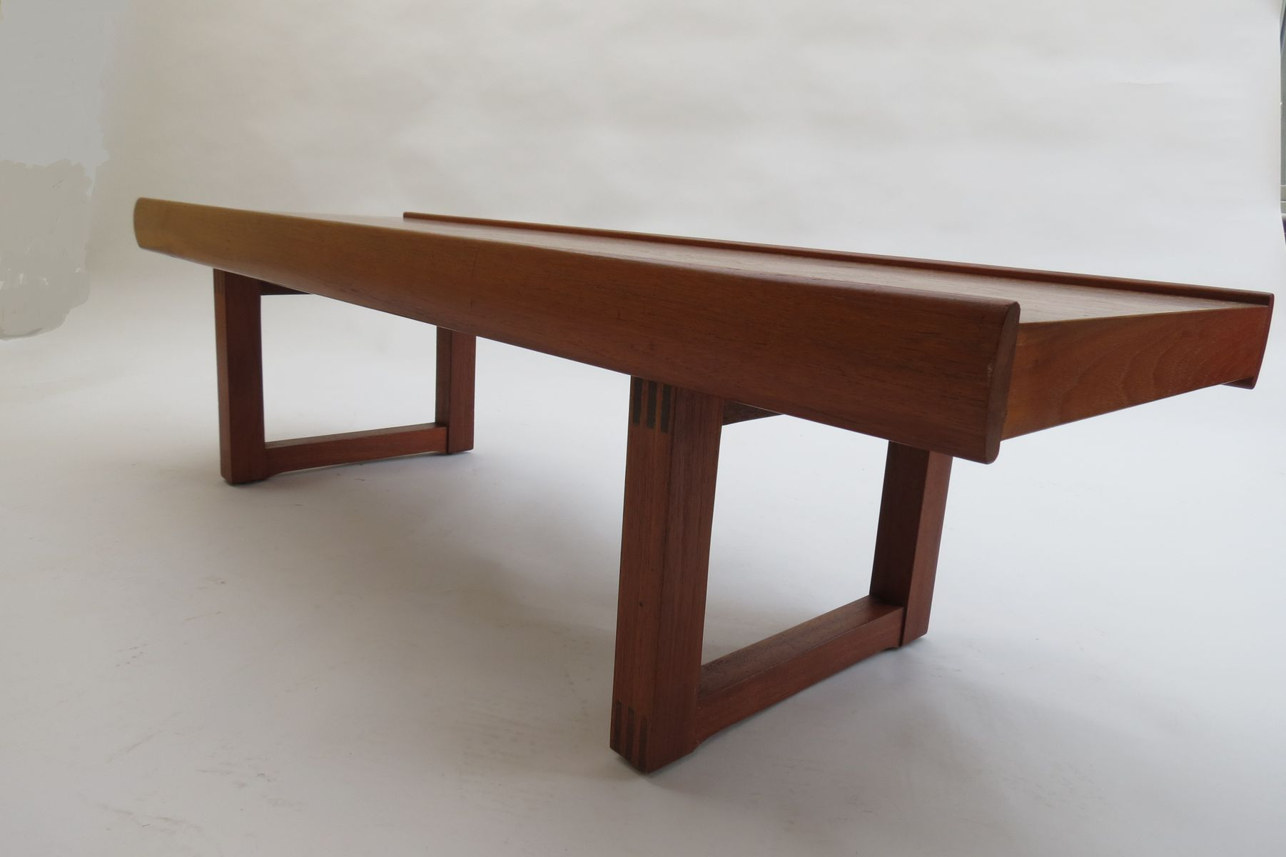 Norwegian Bruksbo Teak Coffee Table by Torbj¸rn Afdal for