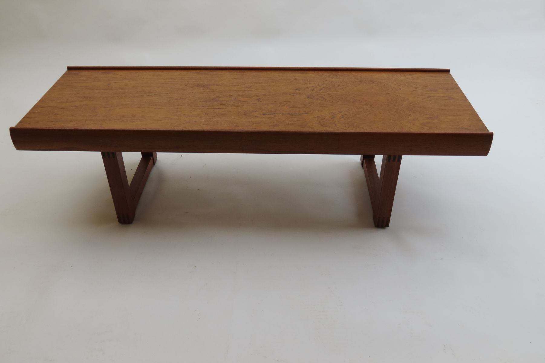 Norwegian Bruksbo Teak Coffee Table by Torbjrn Afdal for