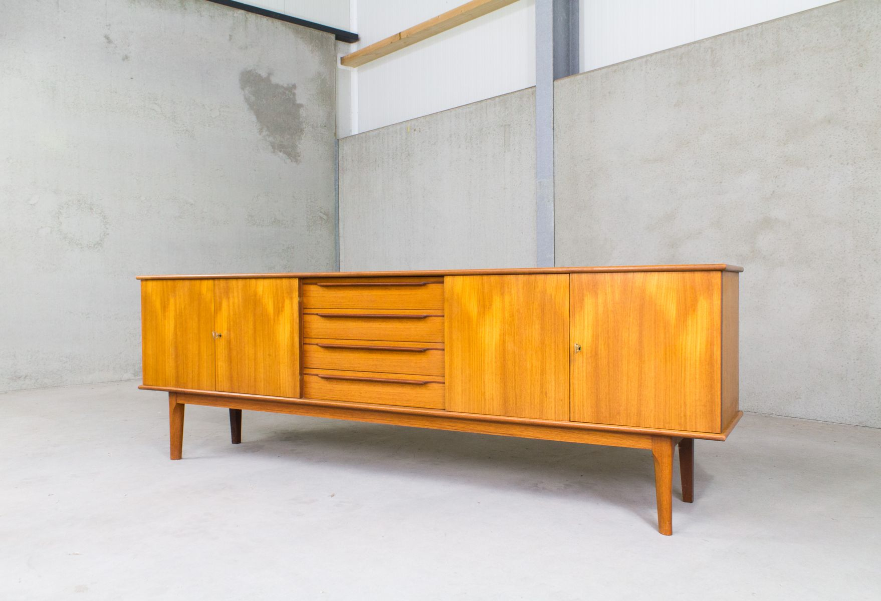Scandinavian sideboard with four drawers for sale at pamono for Sideboard scandi