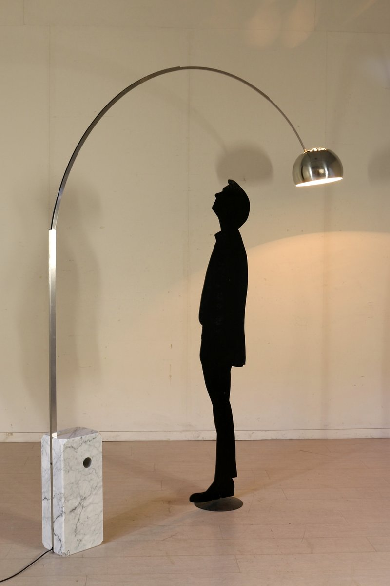 Arco Floor Lamp by Castiglioni Brothers for Flos, 1980