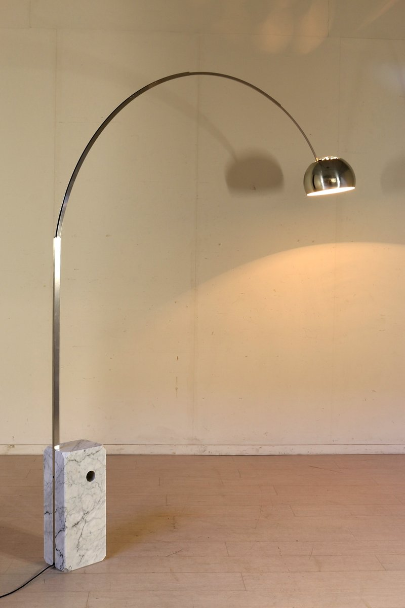 Arco Floor Lamp by Castiglioni Brothers for Flos, 1980s