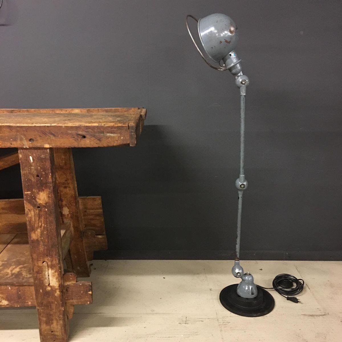 lampe industrielle par jean louis domecq pour jield 1950s en vente sur pamono. Black Bedroom Furniture Sets. Home Design Ideas