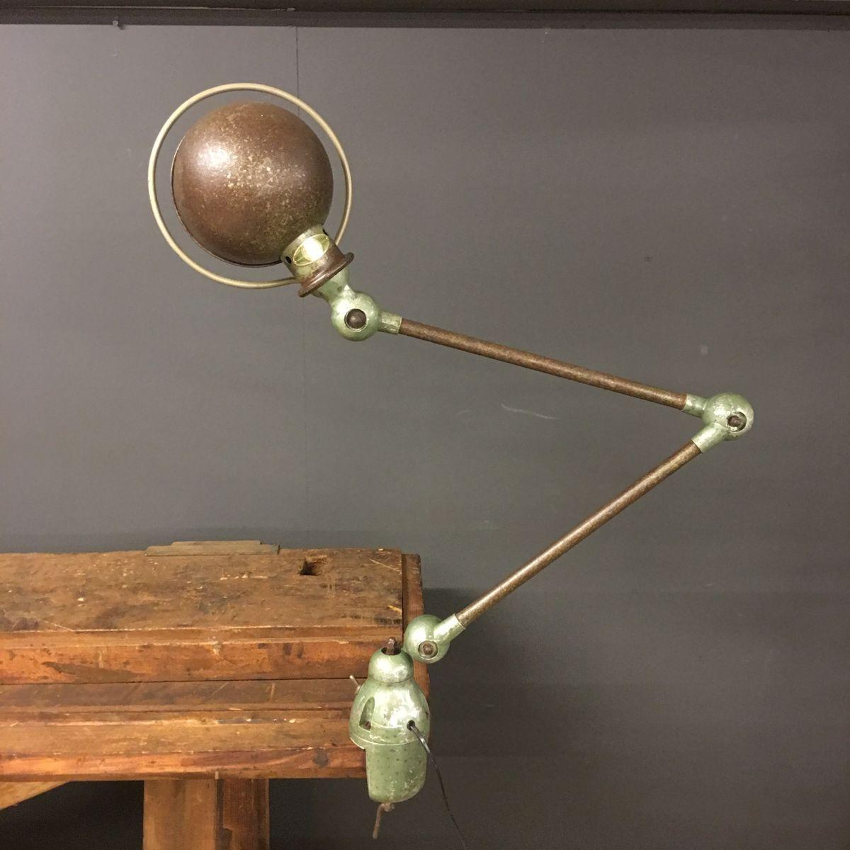 lampe industrielle par jean louis domecq pour jield france 1950s en vente sur pamono. Black Bedroom Furniture Sets. Home Design Ideas