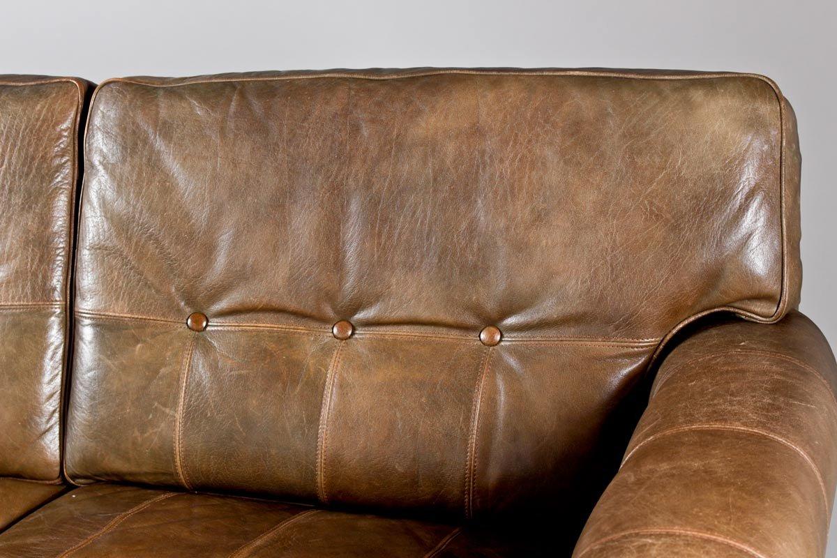100 caramel leather sofa cococohome lexington leather sofa