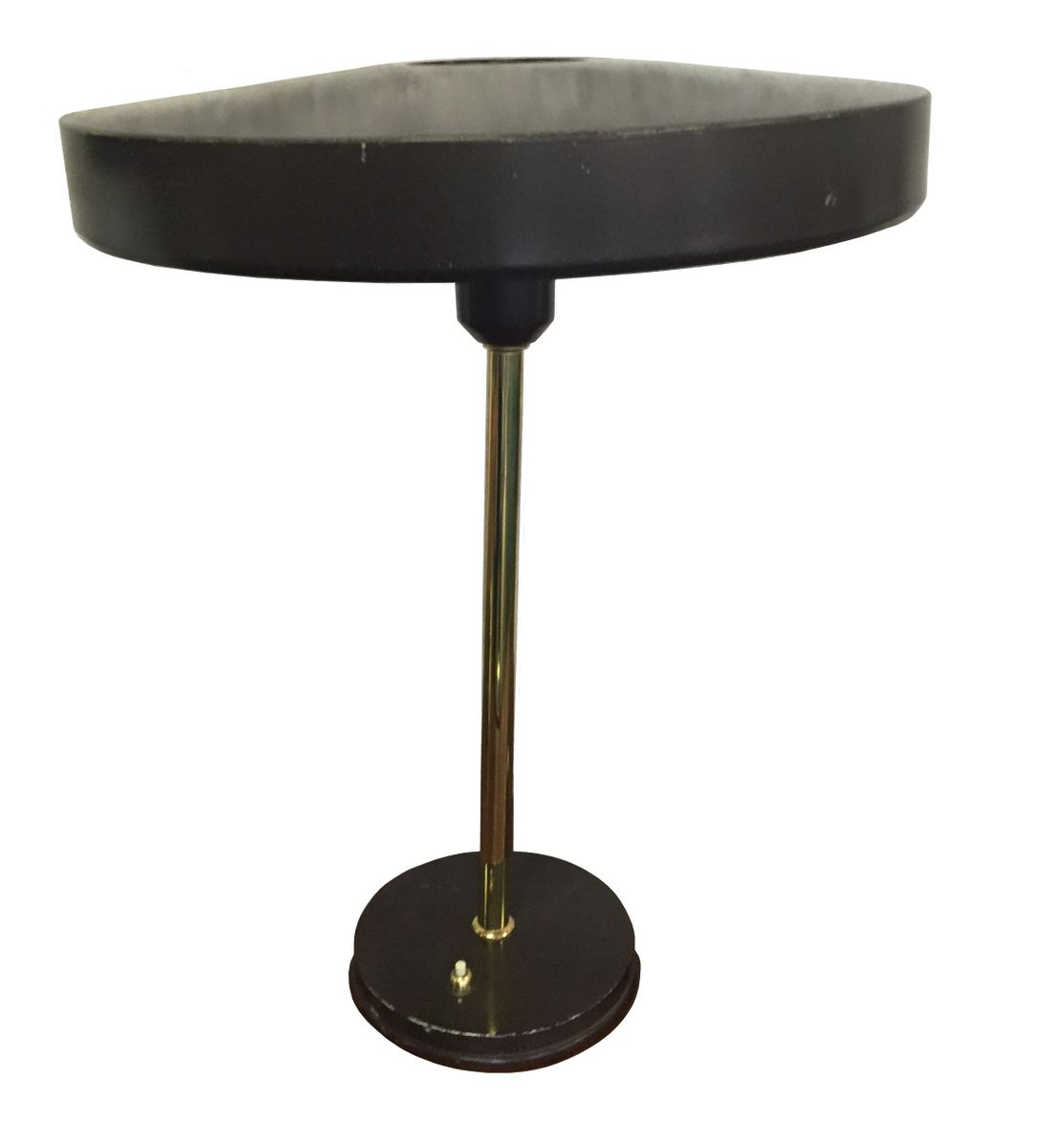 Brass and Metal Table Lamps by Louis Kalff for Philips ...