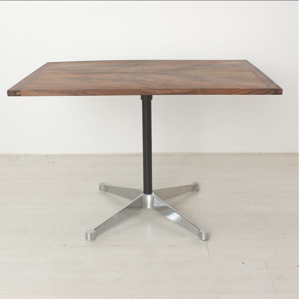 Walnut Coffee Table By Charles Ray Eames For Vitra For Sale At Pamono