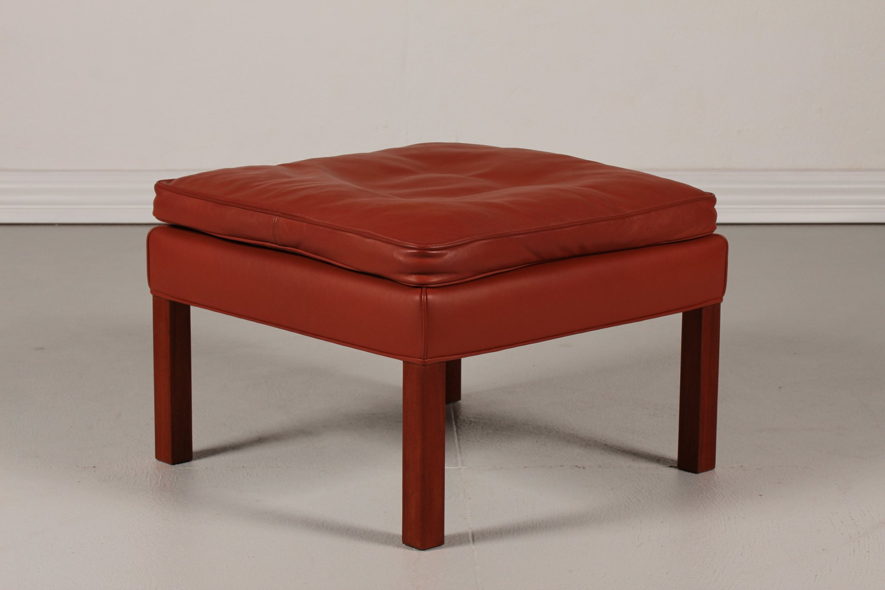 Danish stool by b rge mogensen for fredericia furniture for 1980s chair