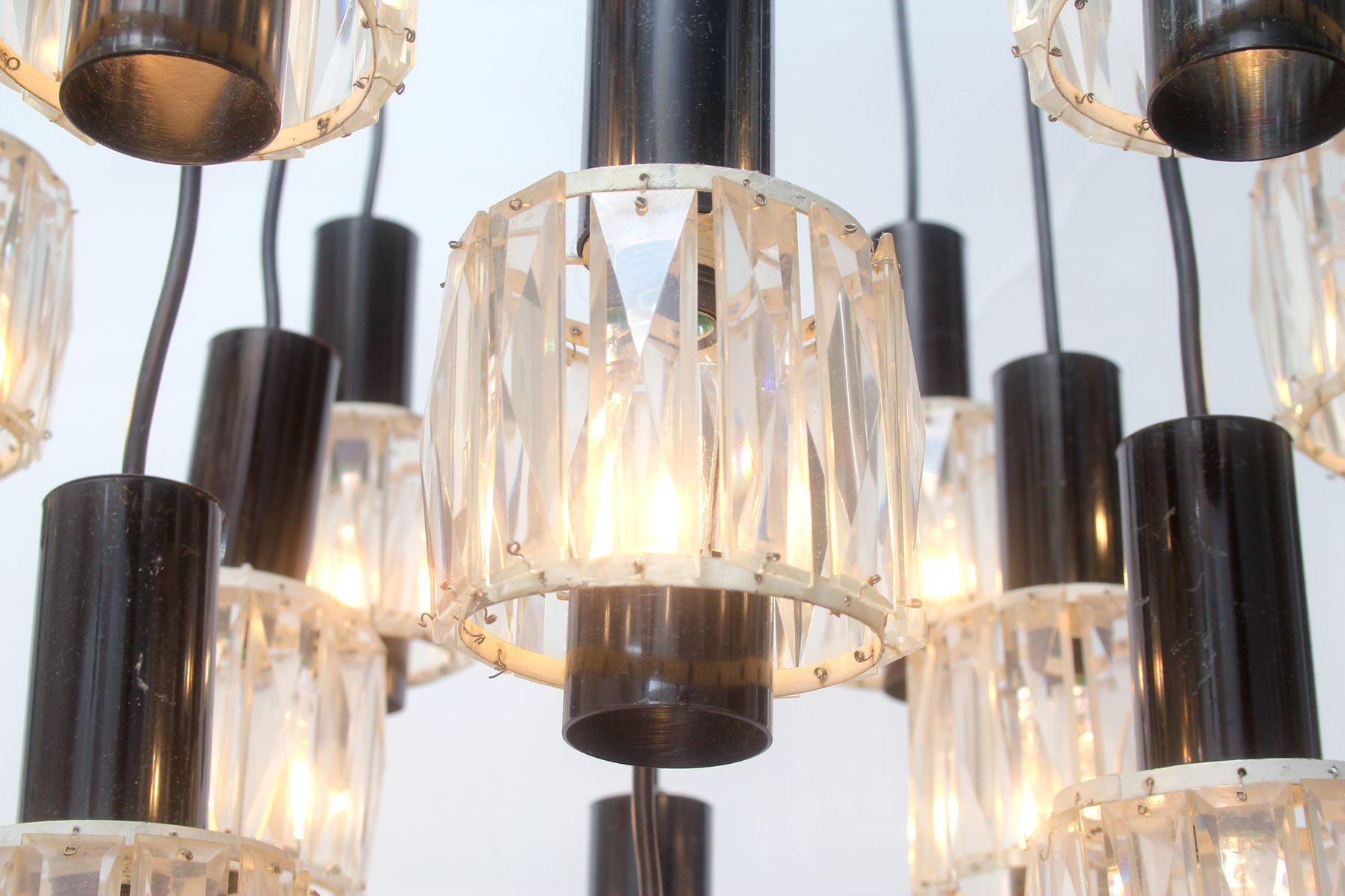 deutsche kaskanden lampe mit 12 leuchten 1960 bei pamono kaufen. Black Bedroom Furniture Sets. Home Design Ideas
