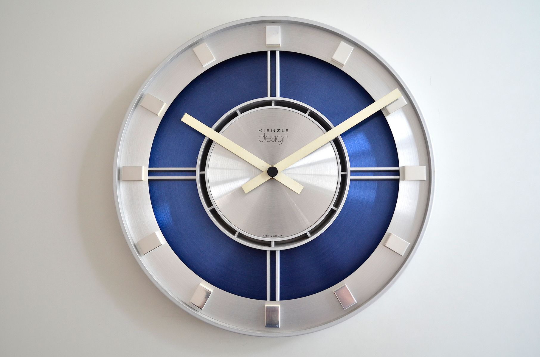 vintage german wall clock from kienzle 1960s for sale at