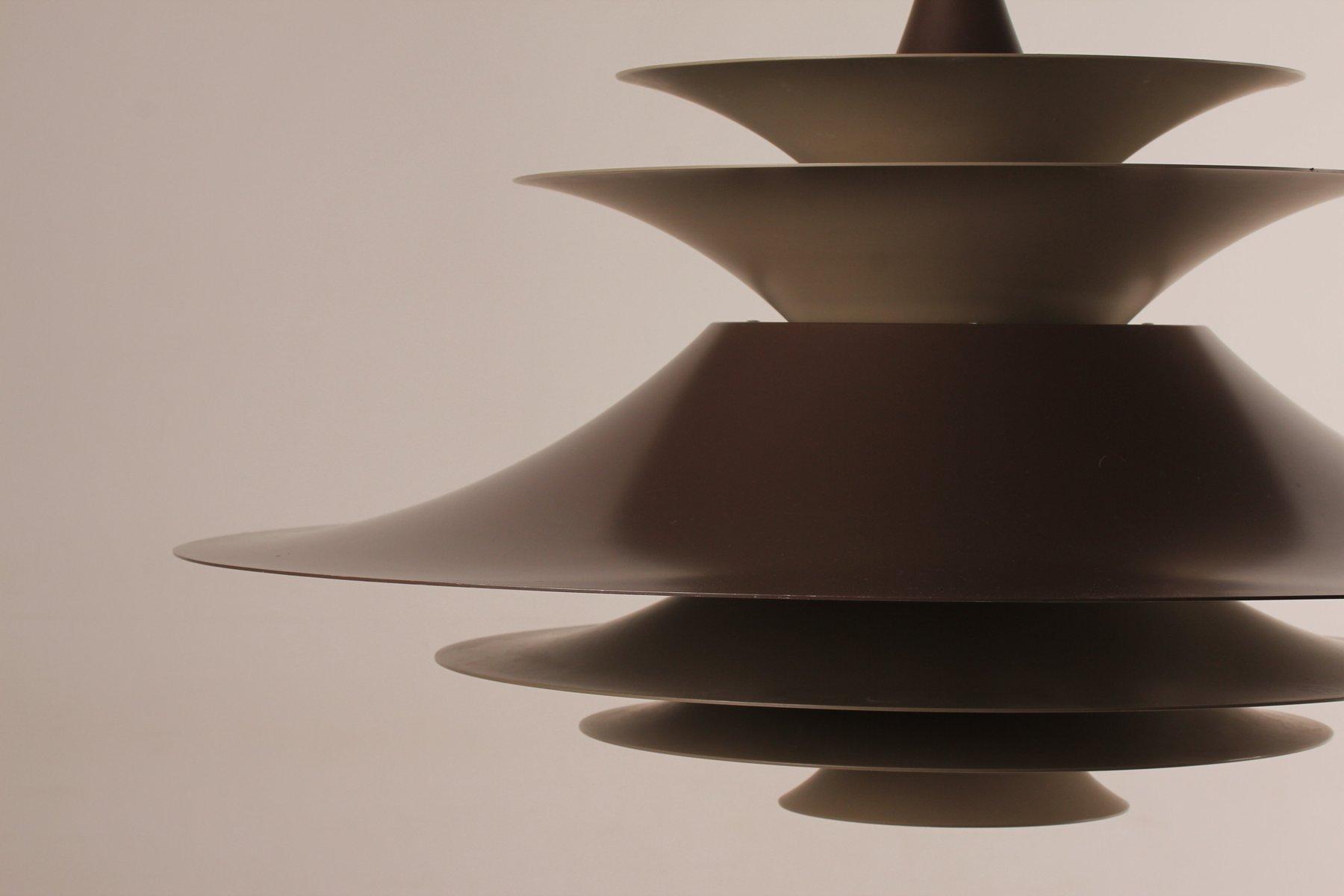 Grande Lampe Radius par Erik Balslev pour Fog & Mørup, 1960s en ...